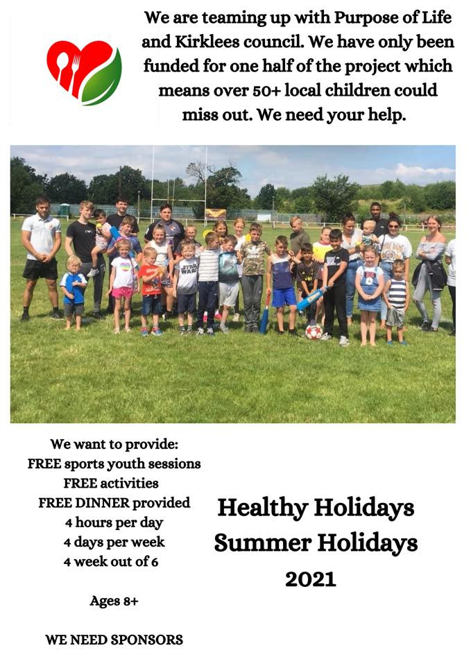 Poster detailing the healthy Holidays