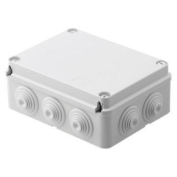 GEWISS IP55 BOX 190x140x70 GROMMETS SCREW LID
