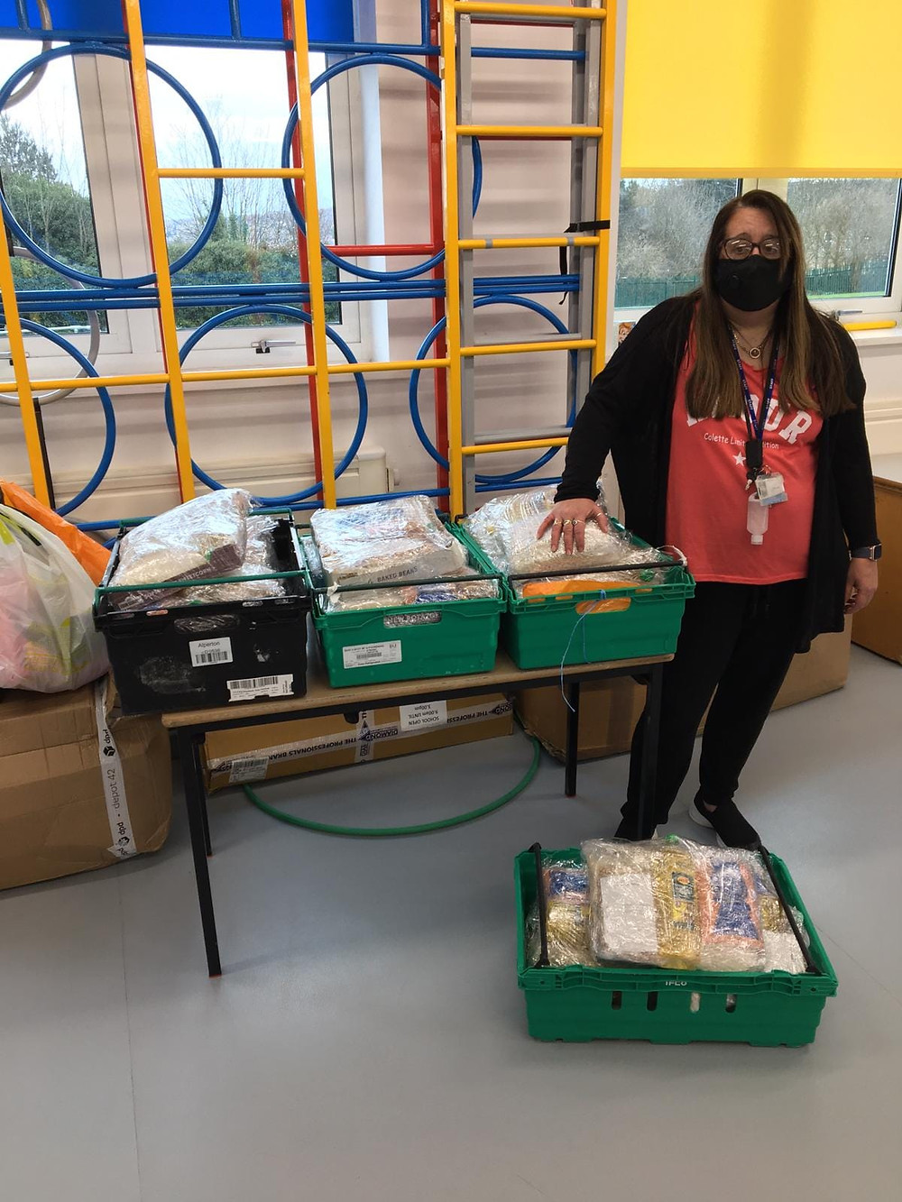 Yorkshire foodbank donation for purpose of life charity