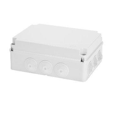 GEWISS IP55 BOX 300x220x120 GROMMETS SCREW LID