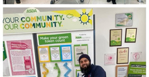 ASDA DEWSBURY GREEN TOKEN