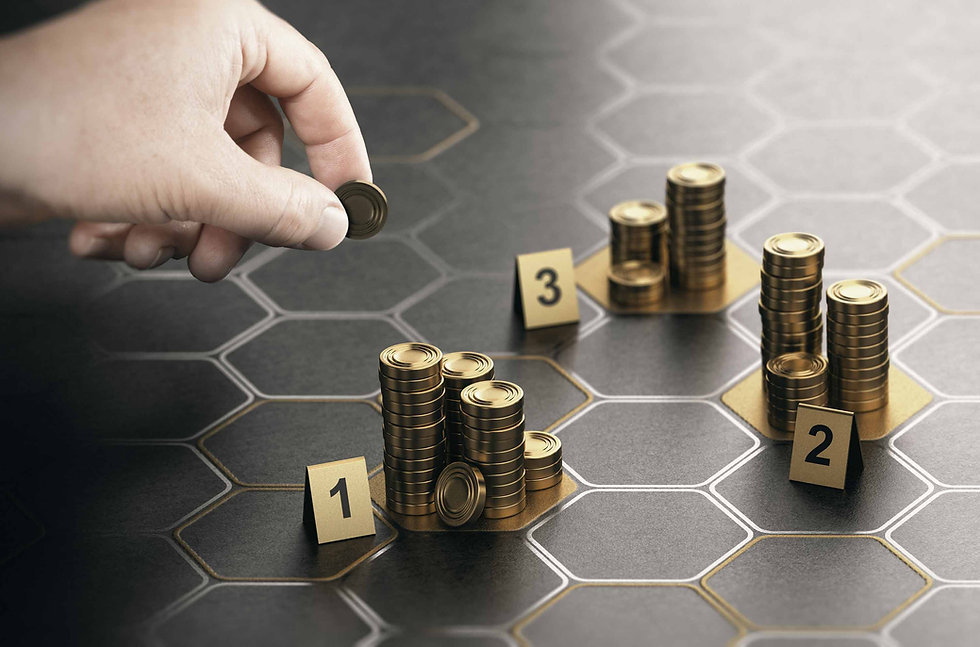 Creating a funding Strategy using Coins