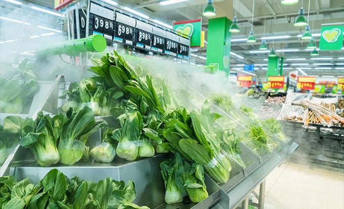 Supermarket product positioning