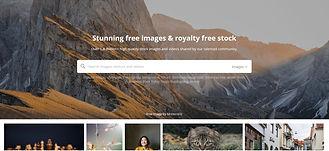 Screenshot of Pixabay