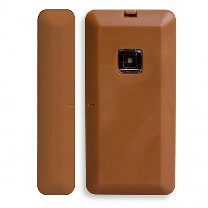 Texecom Premier Elite Wireless Micro Door Contact Brown