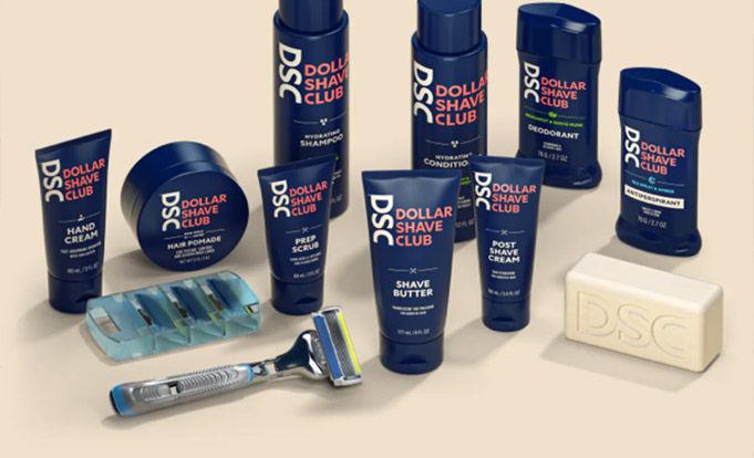 Dollar shave club merchandise