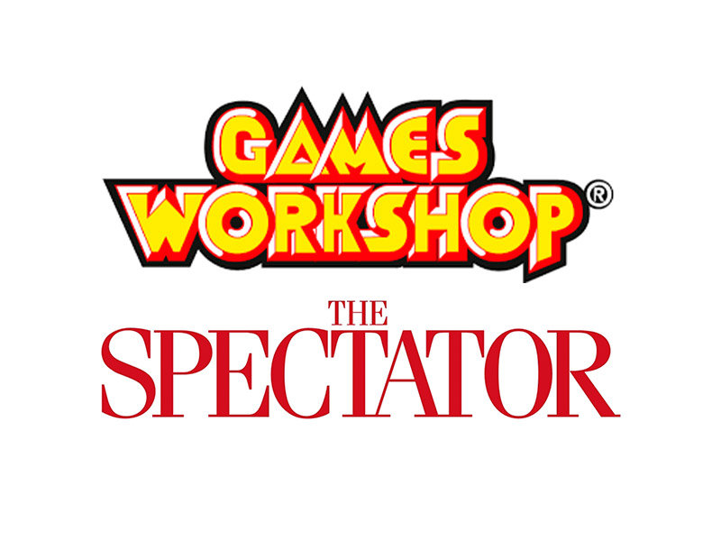 Pictures of Games Workshops and The Spectators logos