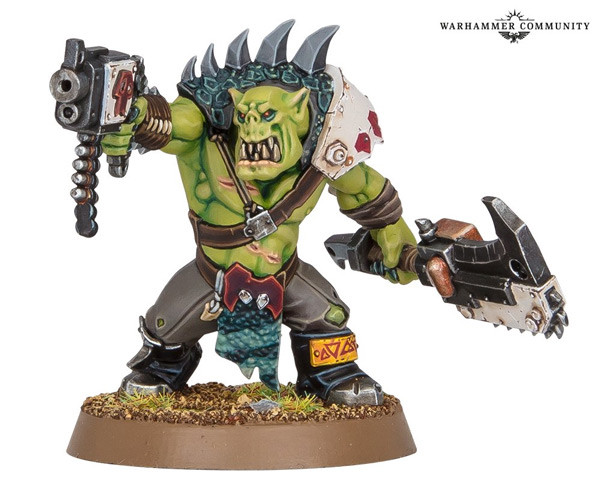 New Ork Beast Snagga from Games Workshop