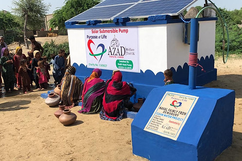 Automated Solar Panel Water System (Pakistan)