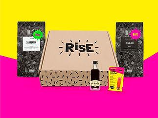 Box of Rise coffee