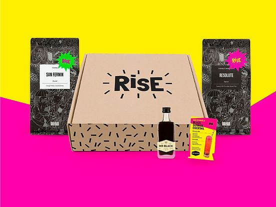 Box of Rise coffee