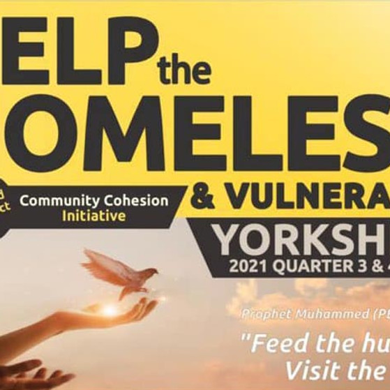 Help the Homeless and Vulnerable