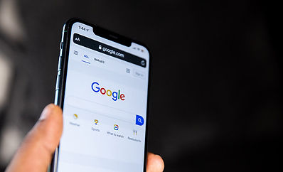 Google on a mobile phone