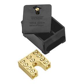 Click Essentials 100A Single Pole Link Box 5x35mm²