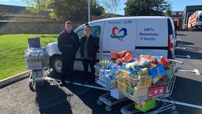 Free emergency food parcels