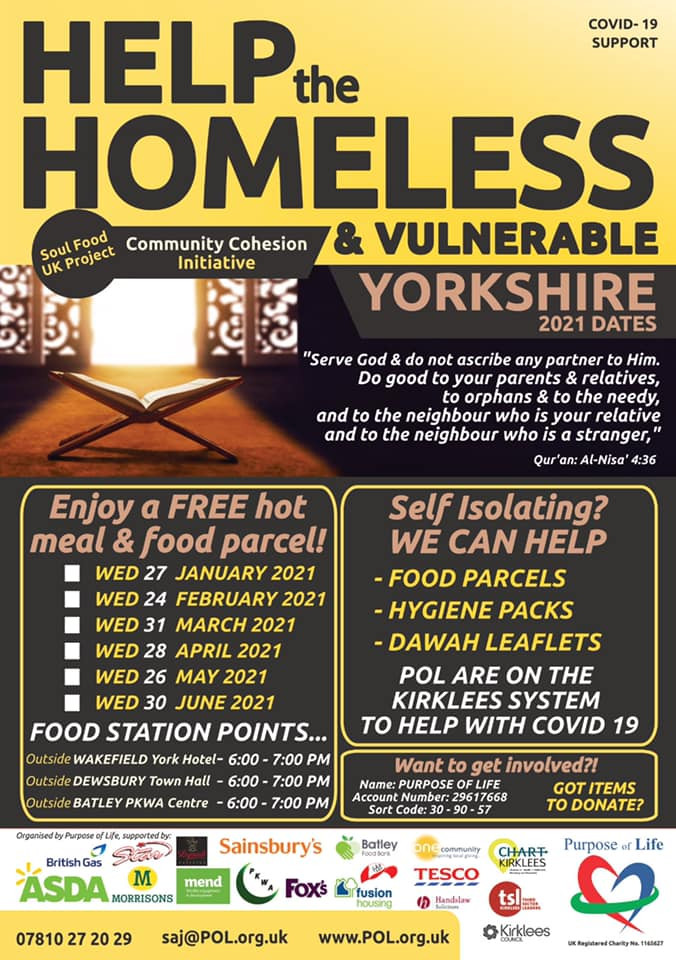Help the homeless charity image - purpose of life
