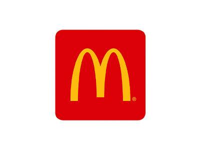 Image of McDonalds logo on a white background