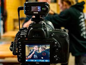 camera in use