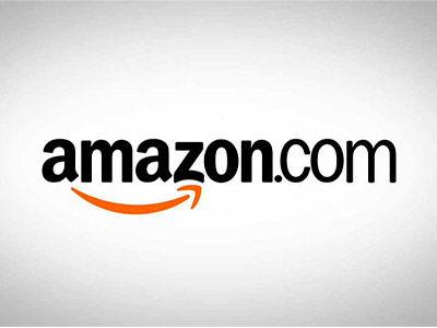 Amazon logo on a white background