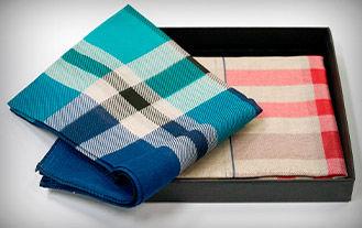handkerchief in a box