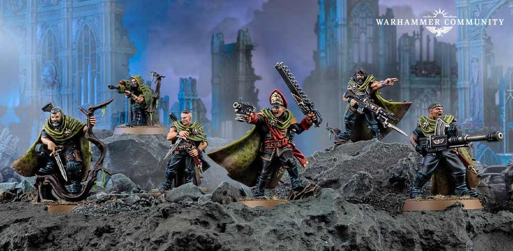 New Plastic Gaunt's Ghosts by Games Workshop