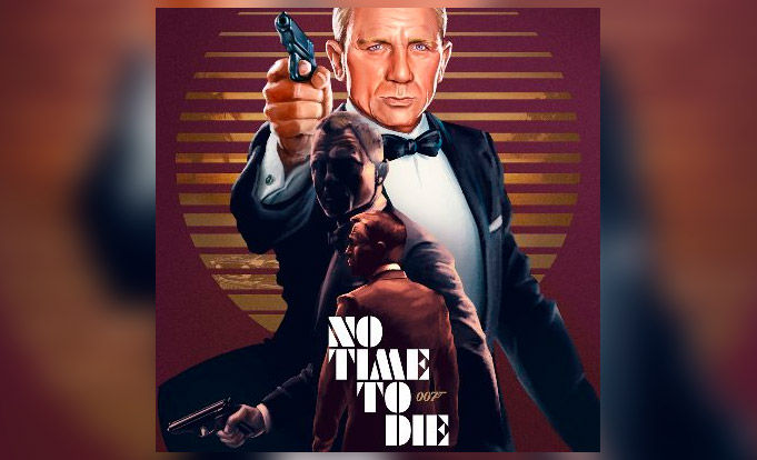 Movie poster, 007 No Time To Die