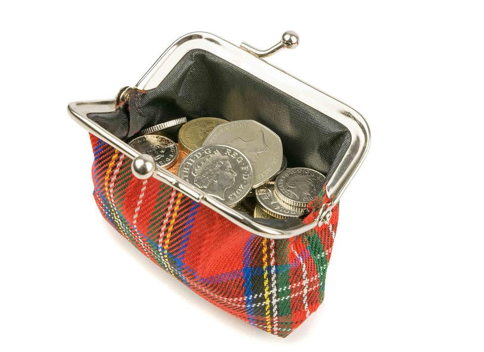 Purse full of Sterling Money