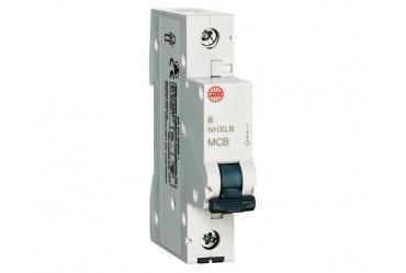 Wylex NHXLB16 16A 6KA Single Pole Miniature MCB Type B