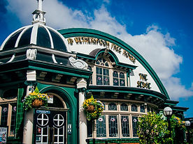 Entrance to a Wetherspoons pub.