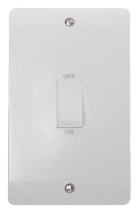 Click Mode 45A Double Plate Vertical Cooker Switch