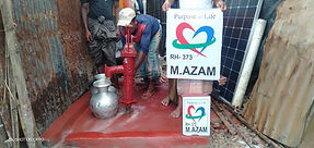 New water well in Rohingya installed by Purpose of life charity