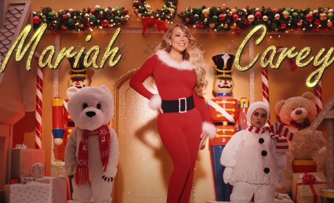 Clip from Mariah Carey - All I Want for Christmas Is You (Make My Wish Come True Edition)