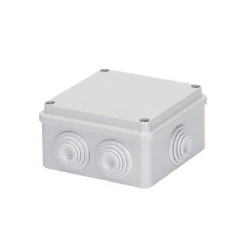 GEWISS IP55 BOX 100x100x50 GROMMETS SCREW LID