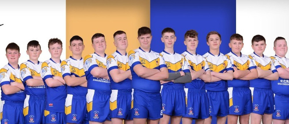 batley boys under 15's group photo