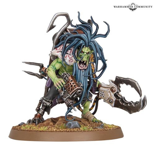 Zodgrod Wortsnagga's New Model from Games Workshop