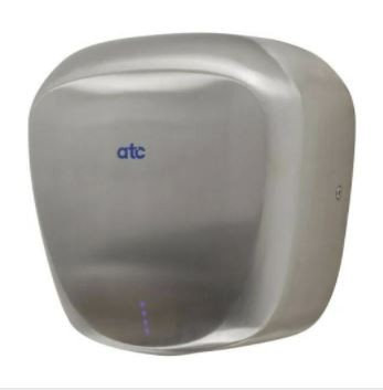 ATC Tiger Eco Hand Dryer Stainless Steel