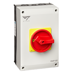 Stag 125A 4 Pole IP65 Rotary Isolator