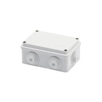 GEWISS IP55 BOX 120x80x50 GROMMETS SCREW LID