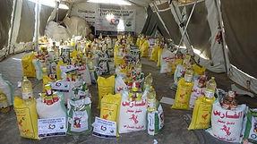 Food parcels for Yemen
