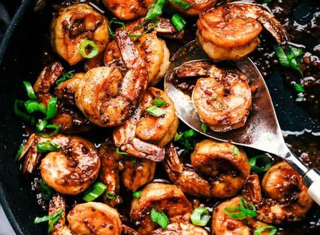 Viet-Cajun Shrimp Stir Fry