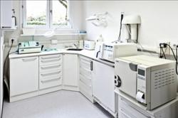 L'area sterilizzazione