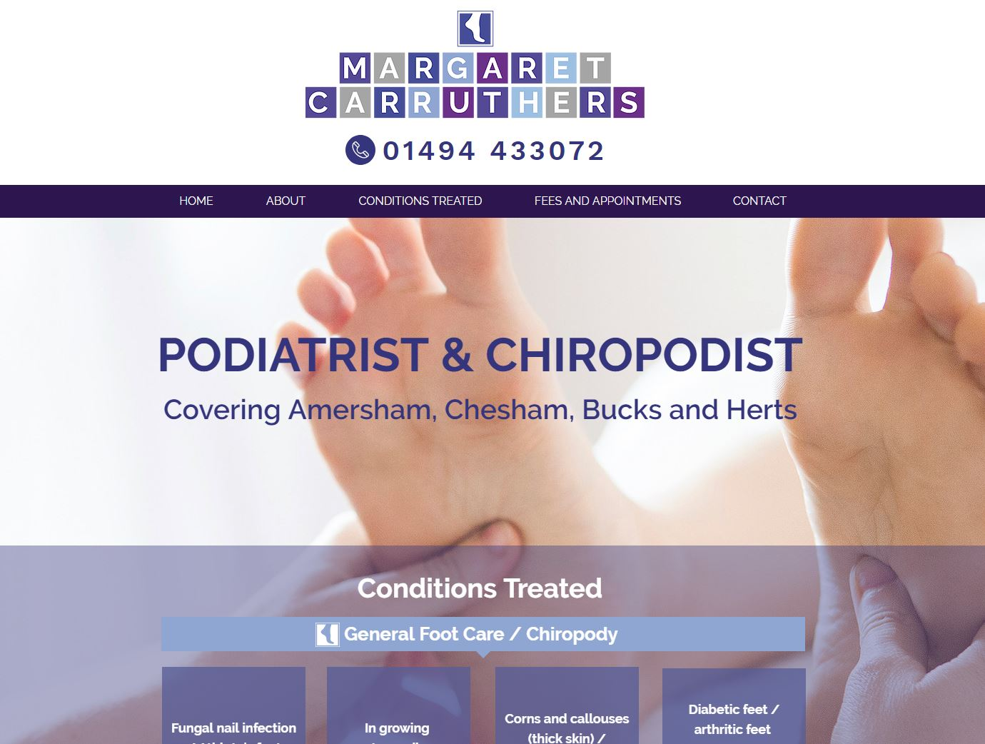 Margaret Carruthers Podiatrist