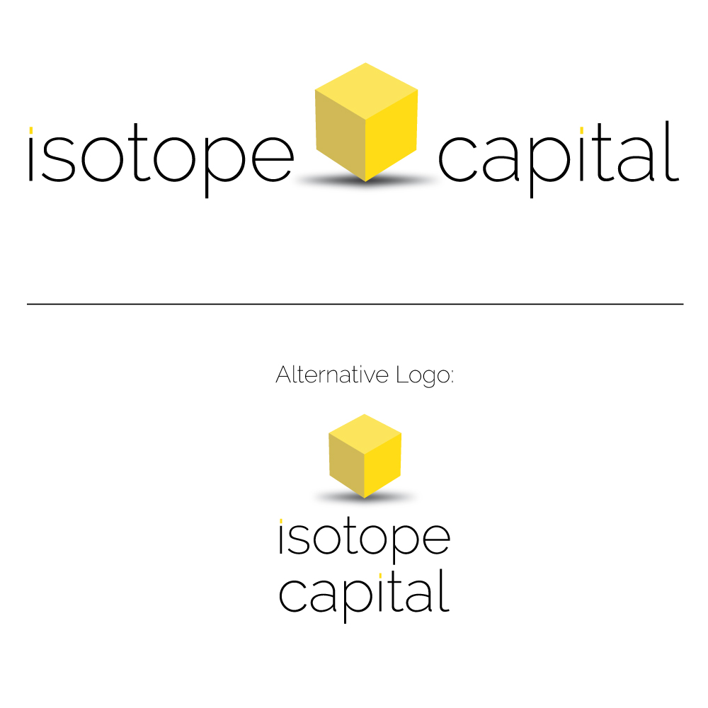 Isotope Capital Logo Branding