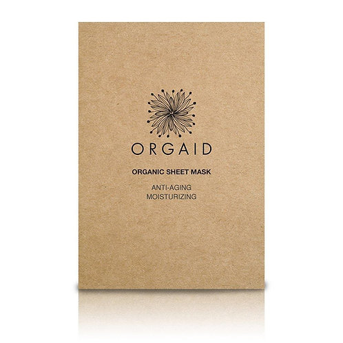 Orgaid Anti-Aging and Moisturising Organic Sheet Mask - Single Pack