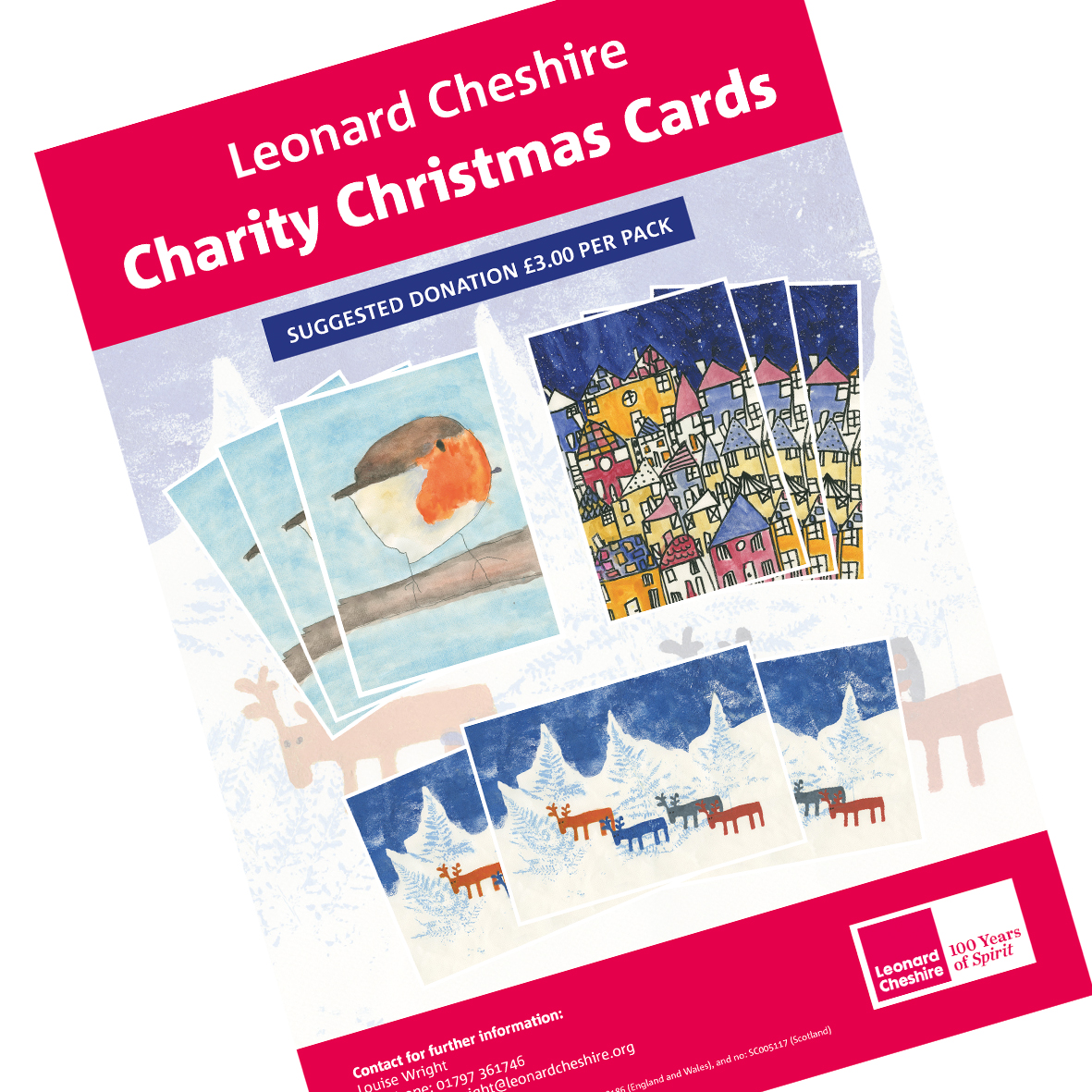Leonard Cheshire Christmas Cards