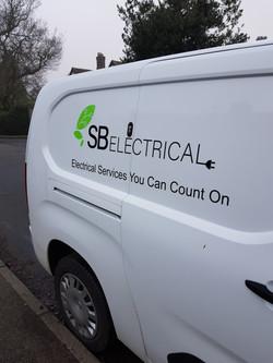 SB Electrical Branded Van