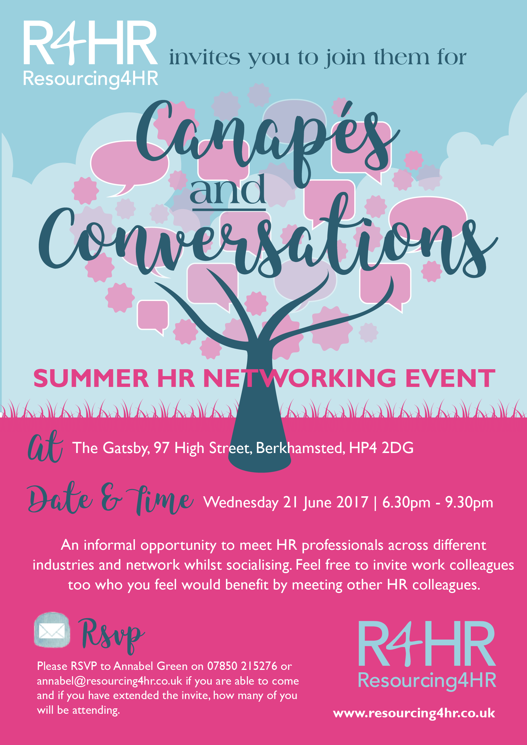 Summer Networking Invitation