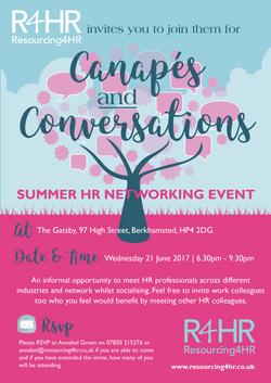Summer Networking Invitation