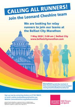 Belfast Marathon Poster