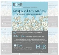 R4HR Networking Invitation